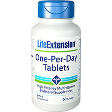Life Extension One Per Day 60 ταμπλέτες
