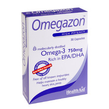 Health Aid Omegazon 750mg 30 κάψουλες