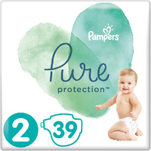 Pampers Pure Protection No 2 (4-8kg) 39τμχ