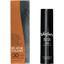 Version BB Acne Solaire Cover Moisturizing Face Cream for Acne Prone Skin SPF30 50ml