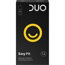 DUO - Προφυλακτικά Easy Fit -12τμχ