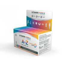 NATURALIA VITAMIN FORCE A-Z WITH LUTEIN + Q10 30 CAPS