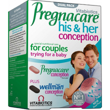 Vitabiotics Pregnacare His & Her Conception Dual Pack 2x30 ταμπλέτες